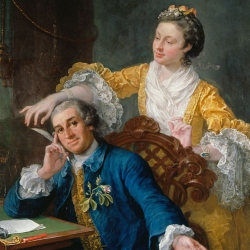 David Garrick by Hogarth