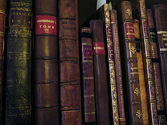 A selection of books by Samuel Johnson