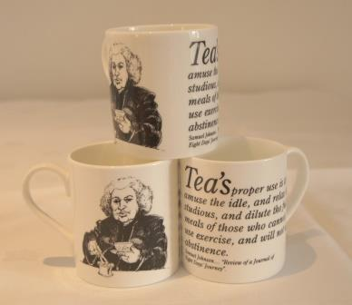 Mug: Johnson on Tea
