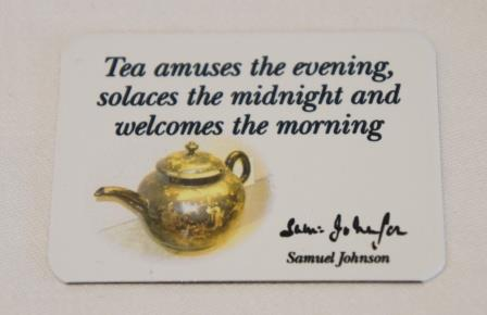 Tea fridge magnet
